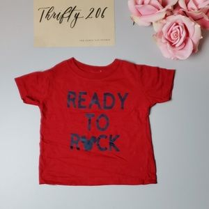 Boy's 12M - Ready To Rock - Musical Tee